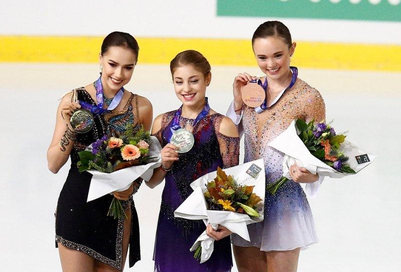 Золотую медаль российской фигуристки по ошибке вручили американке
