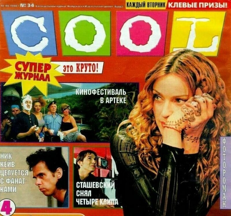 Молодежные журналы