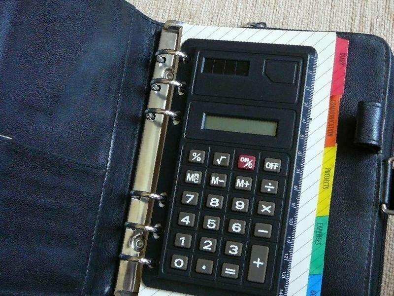 Блокнот-органайзер с калькулятором