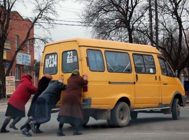 В России полно сильных бабушек
