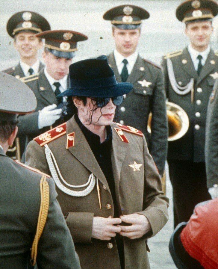 Визит Майкла Джексона в Москву