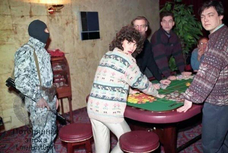 Задержание в одном из московских казино