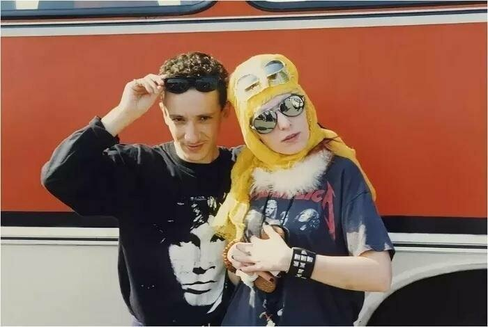 Евгений Хавтан и Жанна Агузарова