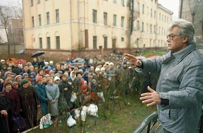 Аллан Чумак и его зрители