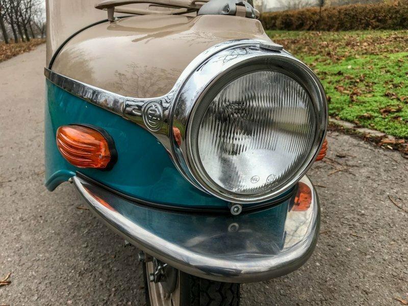 Cezeta 502: знаменитый мотороллер, любимый в СССР