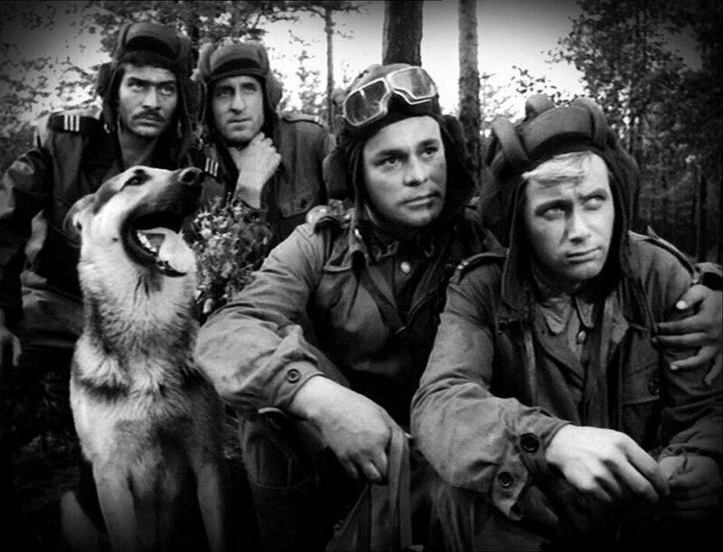 """""""Четыре танкиста и собака"""", 1966-1970 год. Режиссер Конрад Наленцкий"""
