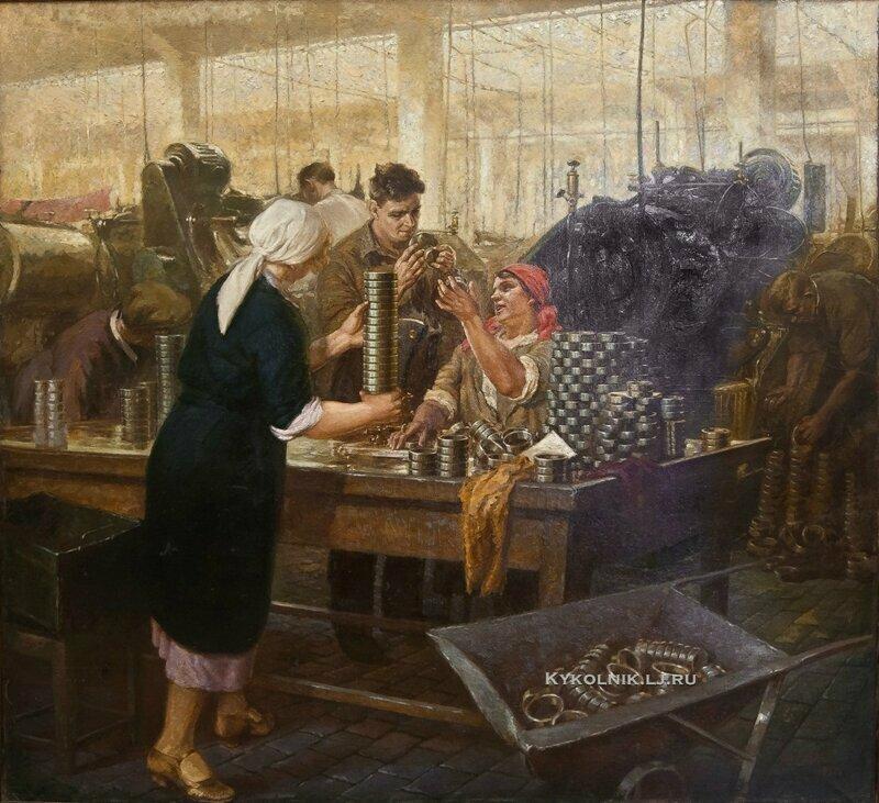 """""""Завод """"Шарикоподшипник"""", Орлова Вера Александровна, 1936"""