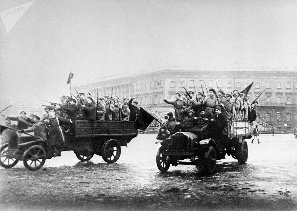 20 век России в фотографиях. Революция 1917-го