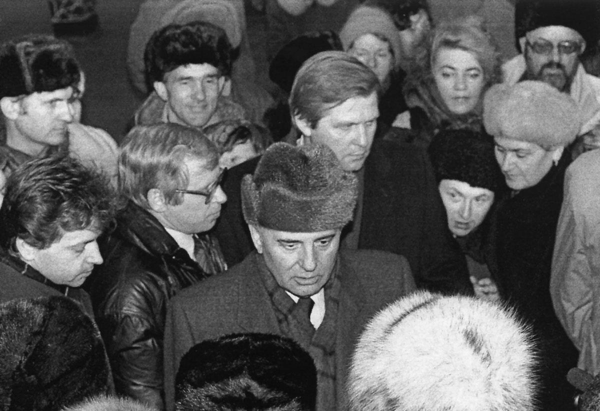 20 век России в фотографиях. Лица перестройки