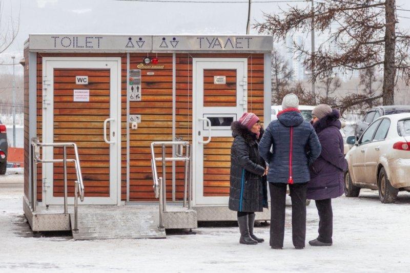 На строительство общественного туалета новосибирские депутаты потратили более 4 миллионов рублей
