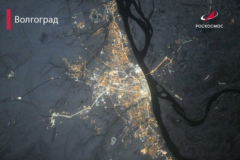 """В """"Роскосмосе"""" показали, как выглядят города нашей страны с высоты 420 километров"""
