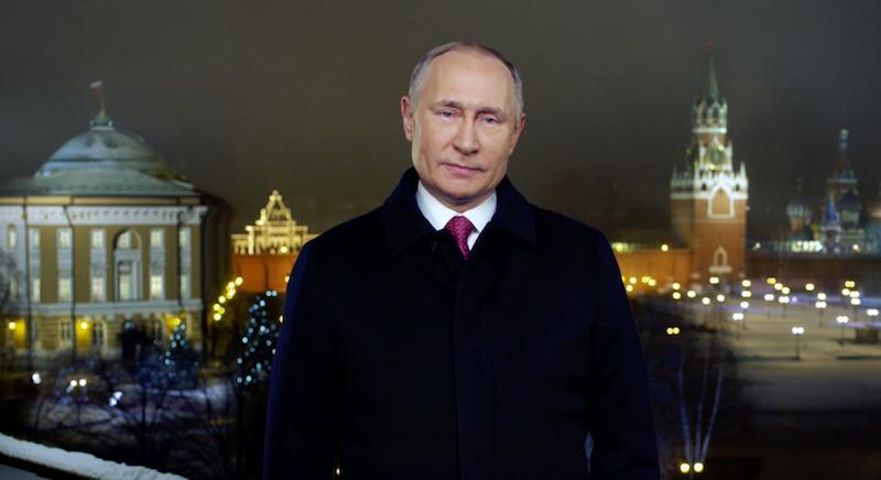 Стало известно, как много россиян смотрели новогоднее обращение Путина