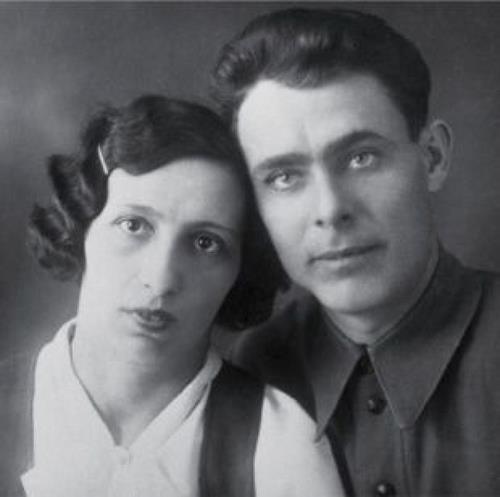 Виктория и Леонид Брежневы, 1927 год