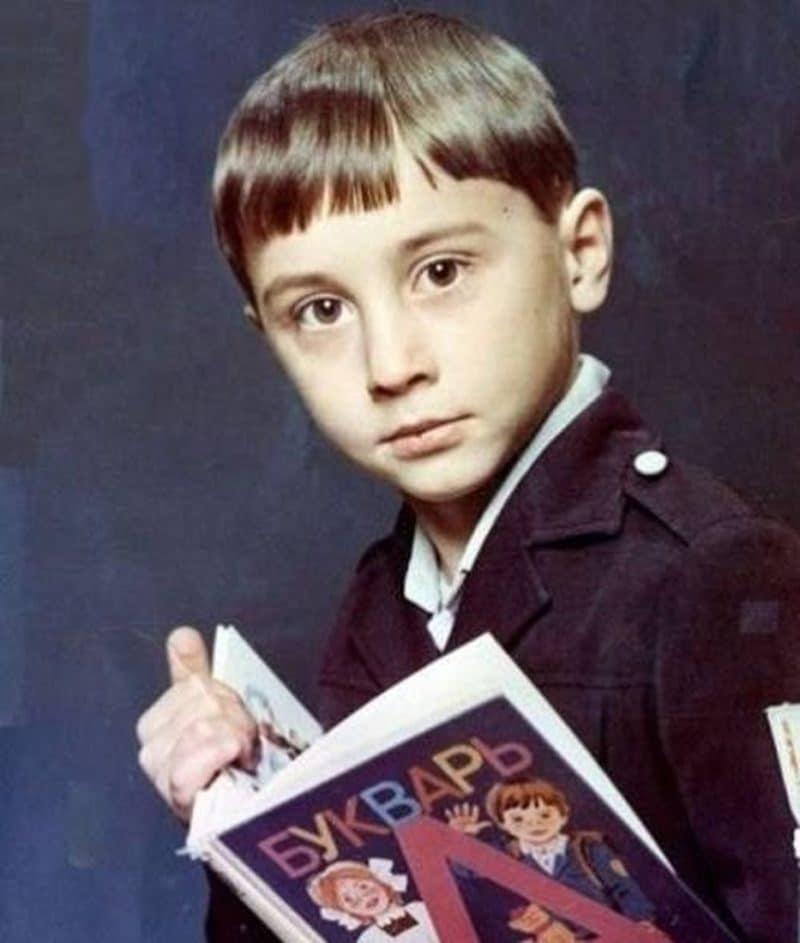 Юный Дима Билан
