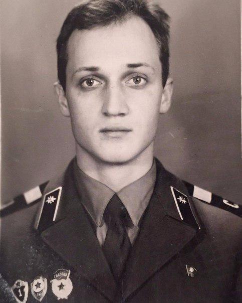 Старший сержант Юрий Георгиевич Куценко.