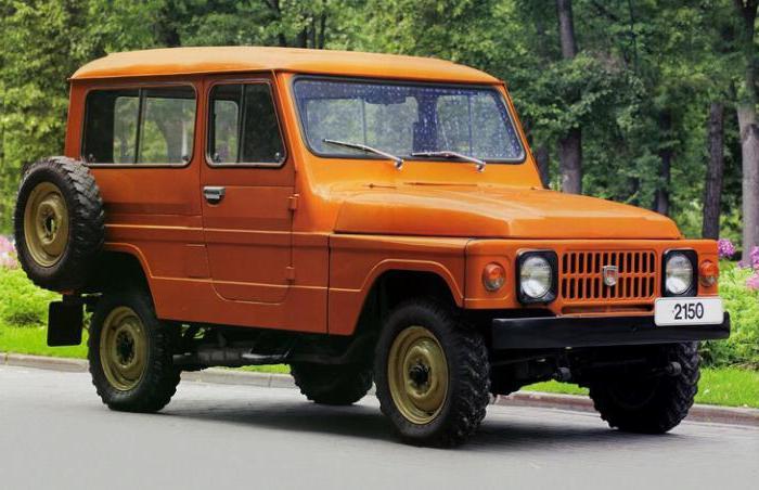 В 1973 году автозаводом Москвич был представлен прототип  внедорожника АЗЛК-2150