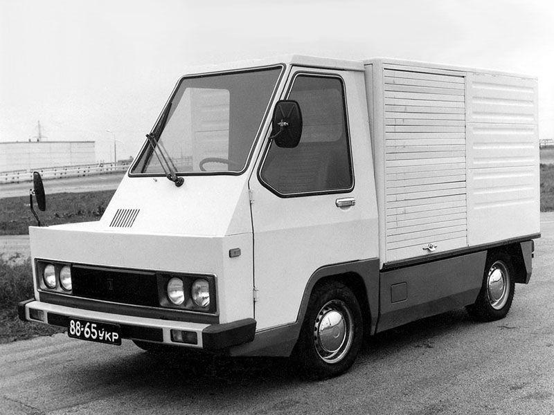 """ВАЗ 2802-01 """"Пони"""" Опытный '1980 Электромобиль, бортовой грузовик с одноместной кабиной"""