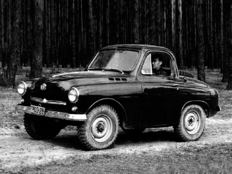 ГАЗ М-73 Опытный 1955г.