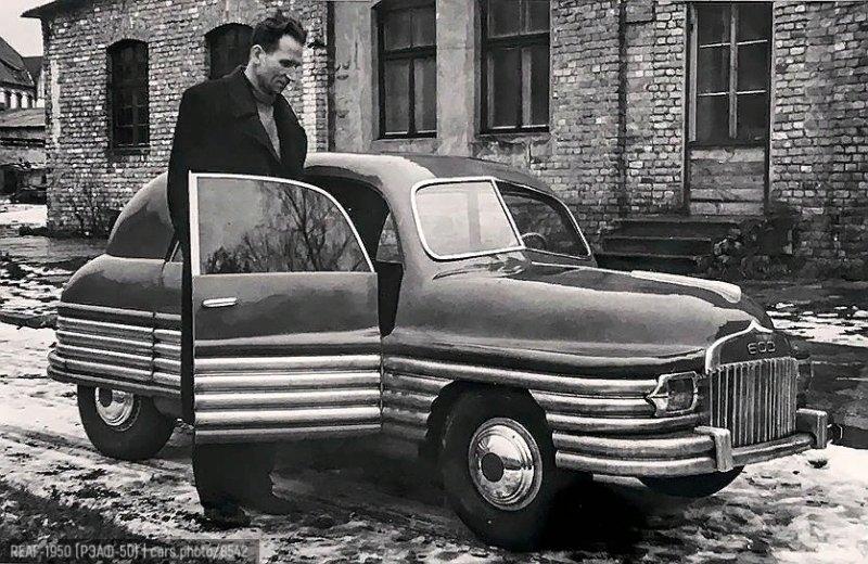 РЭАФ-50 — экспериментальный советский автомобиль, разрабатывавшийся в конце 1940-х годов.