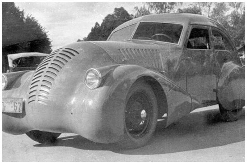 Это единственный экземпляр ГАЗ-Аэро.1932 года конструкции. К сожалению в связи с подготовкой к войне в серию запущен не был