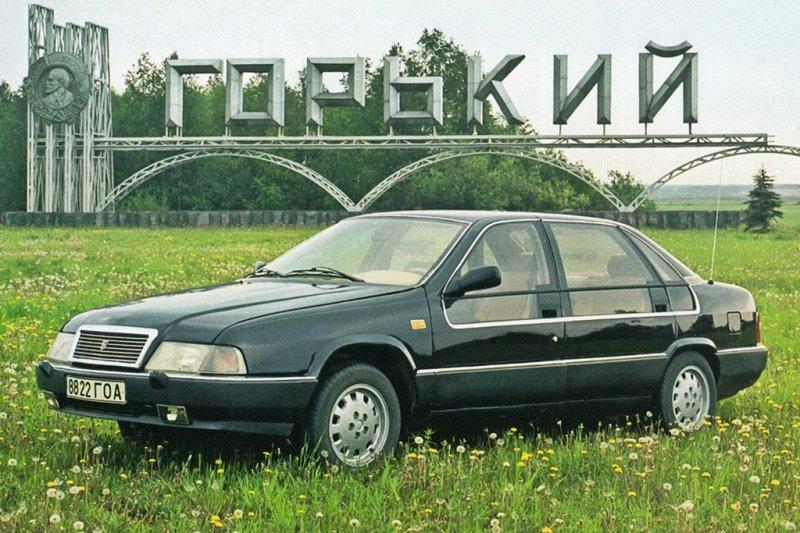 ГАЗ-3105 «Волга». Экспериментальная модель 1987-1992 года.