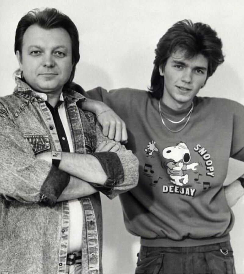 Дима Маликов с отцом