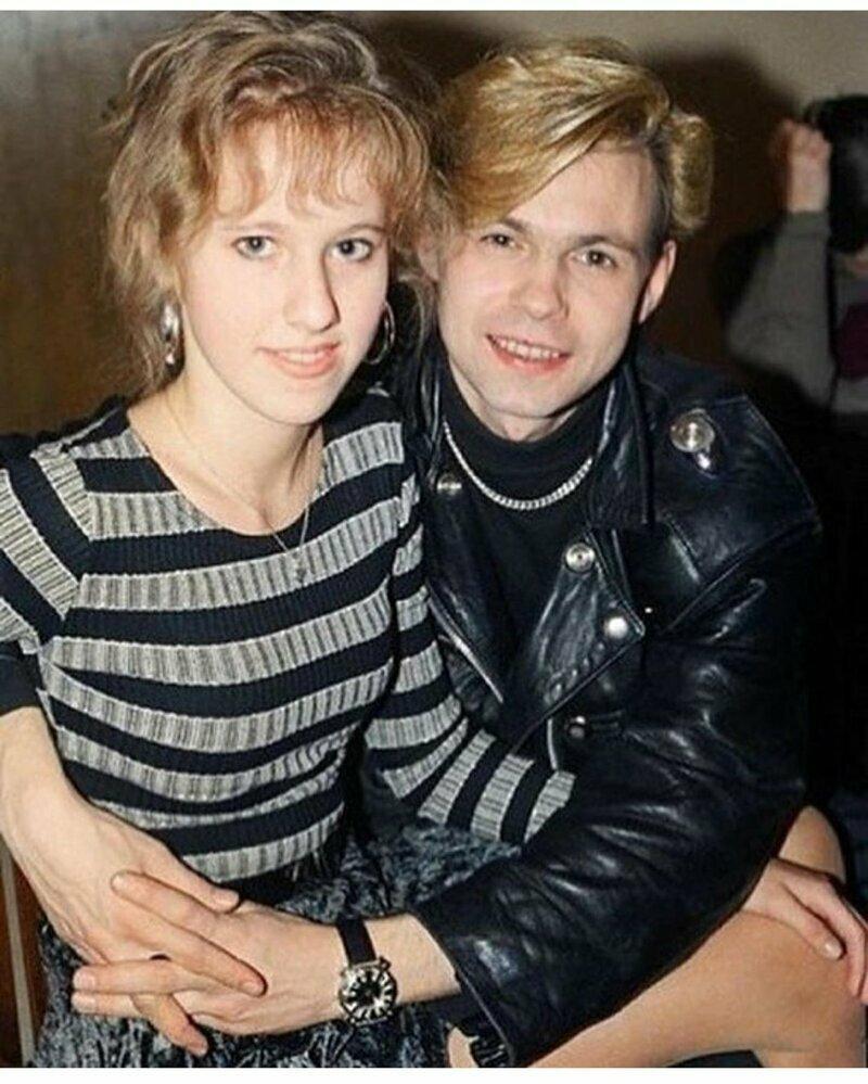 Ксюша Собчак с Владимиром Левкиным