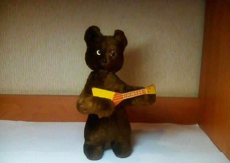 Заводной медведь
