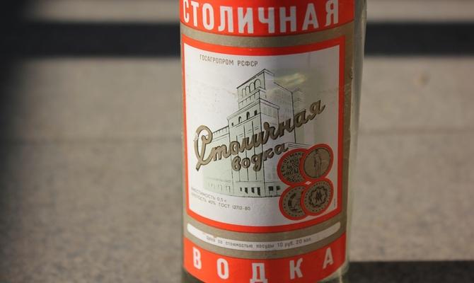 Россия отвоевала в суде право на водку «Столичная»
