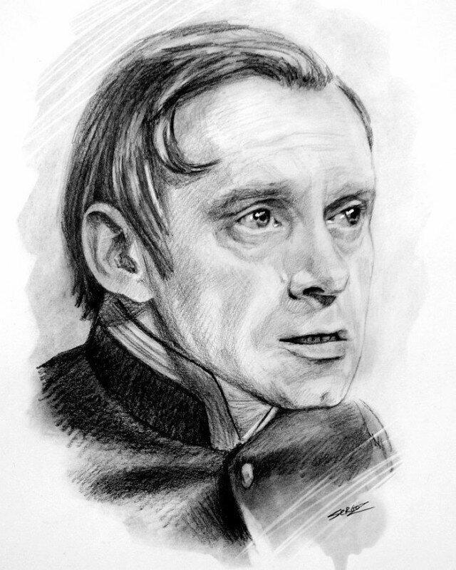 Знаменитости на рисунках Сергея Загаровского
