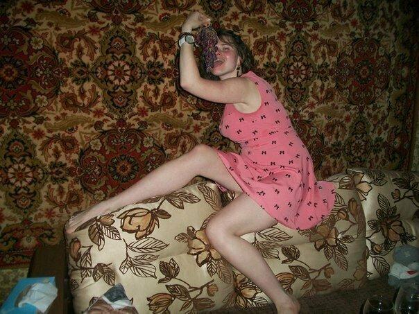 Провинциальные модницы: фото наших соотечественниц, которые не расстаются с ковром