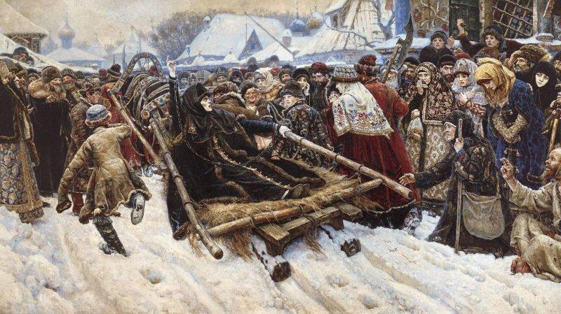 Суриков В.И. «Боярыня Морозова»