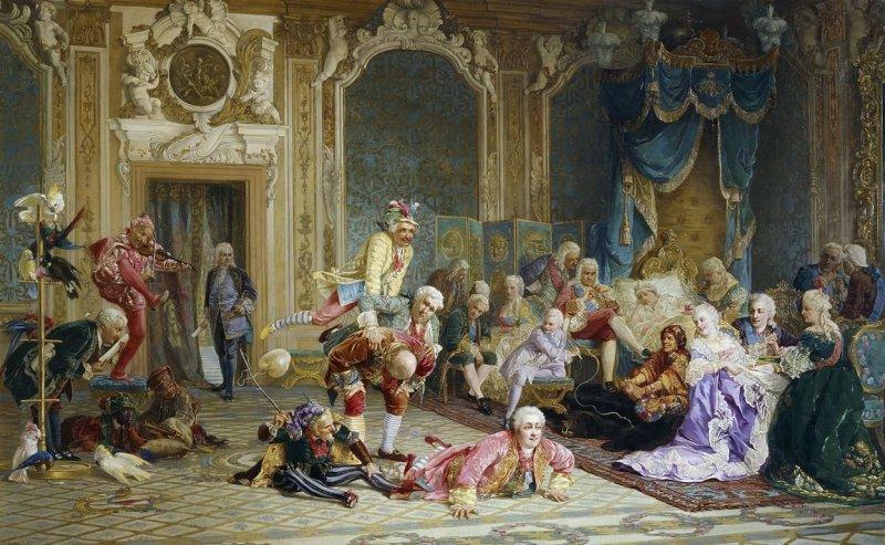 Якоби В.И. Шуты при дворе императрицы Анны Иоанновны