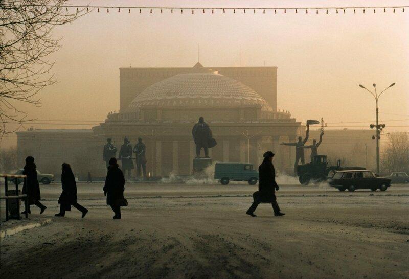 1976 год. Площадь Ленина