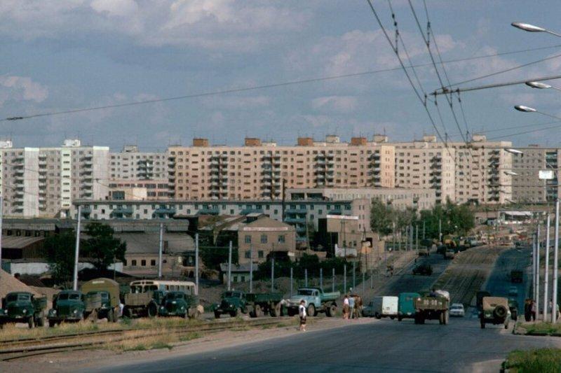 1974 год. Улица Кошурникова