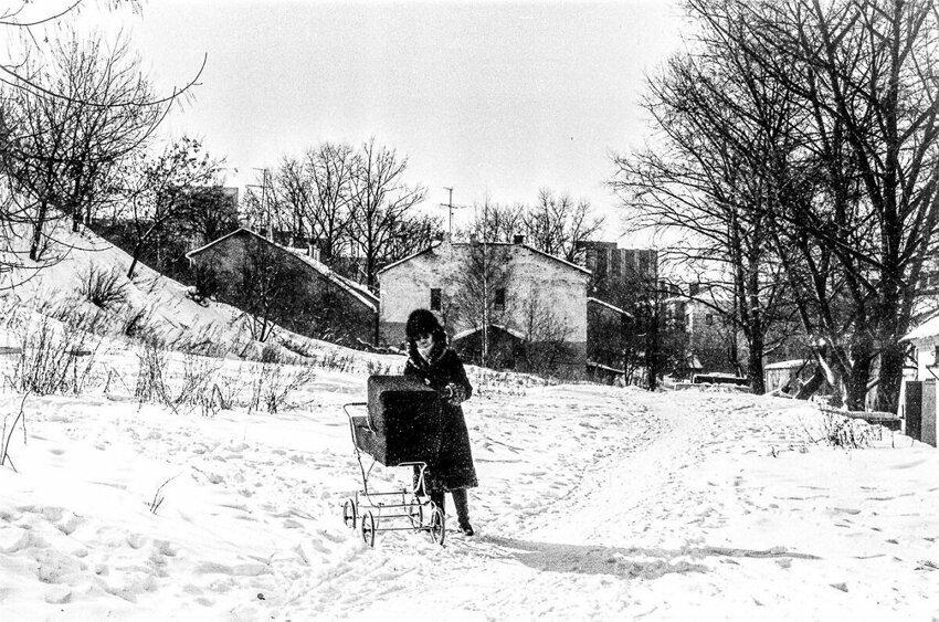 История в фотографиях: зимние развлечения в СССР