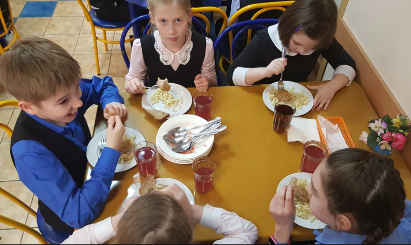 Финская журналистка поразилась питанию российских школьников