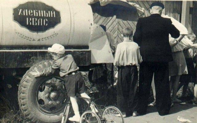 Осколки времени: бочки с квасом в СССР
