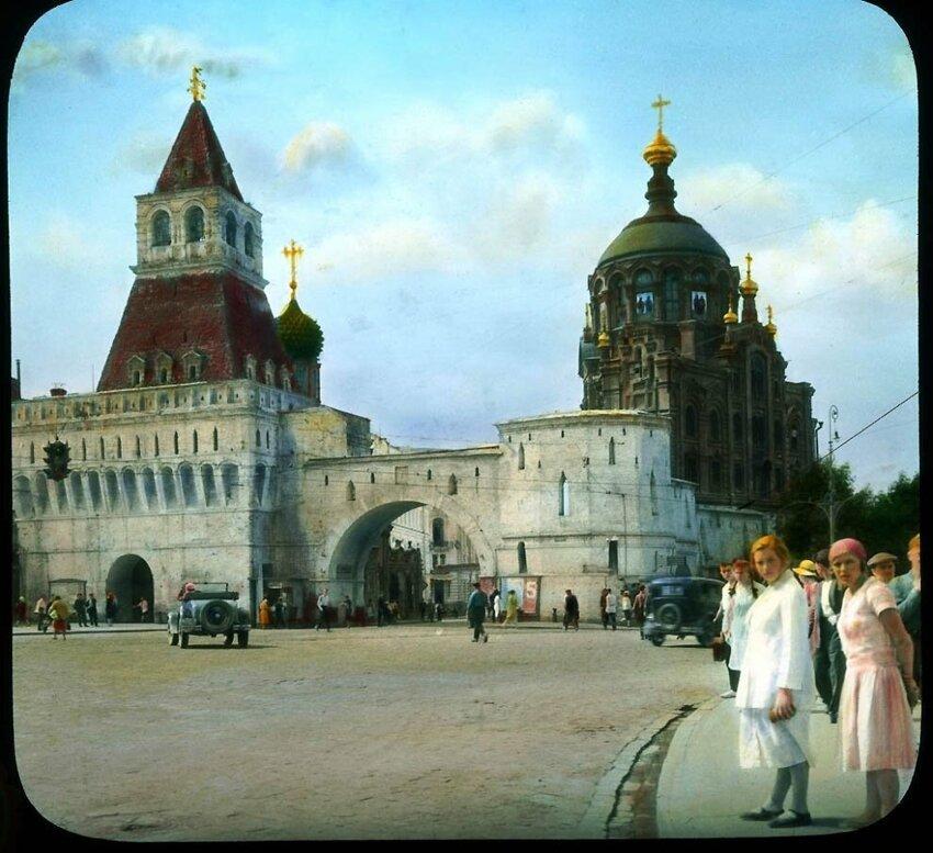 Осколки времени: уникальные фото старой Москвы
