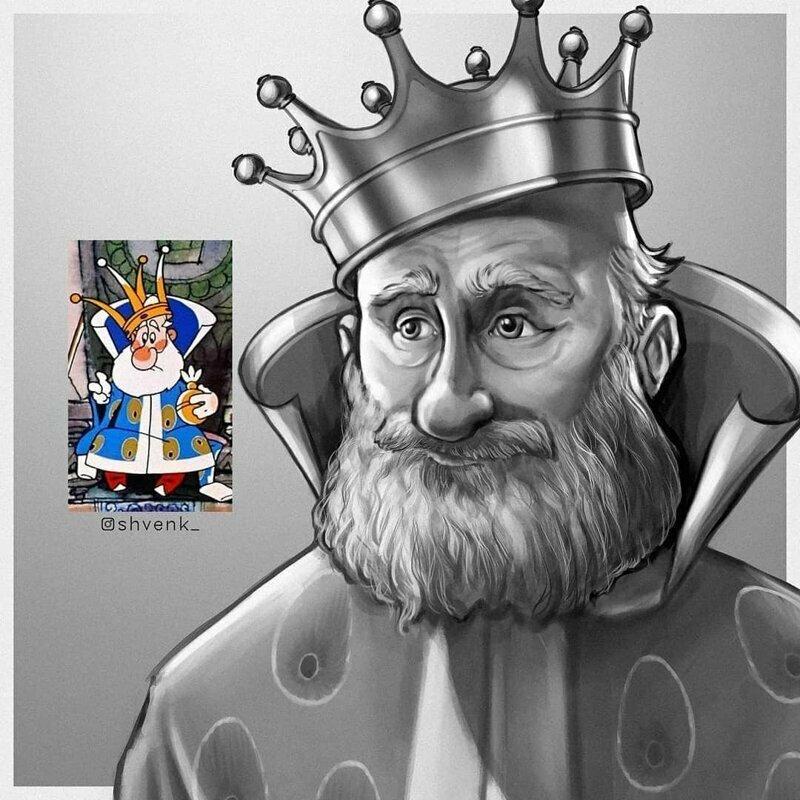 """Царь из """"Вовки в Тридевятом царстве"""""""