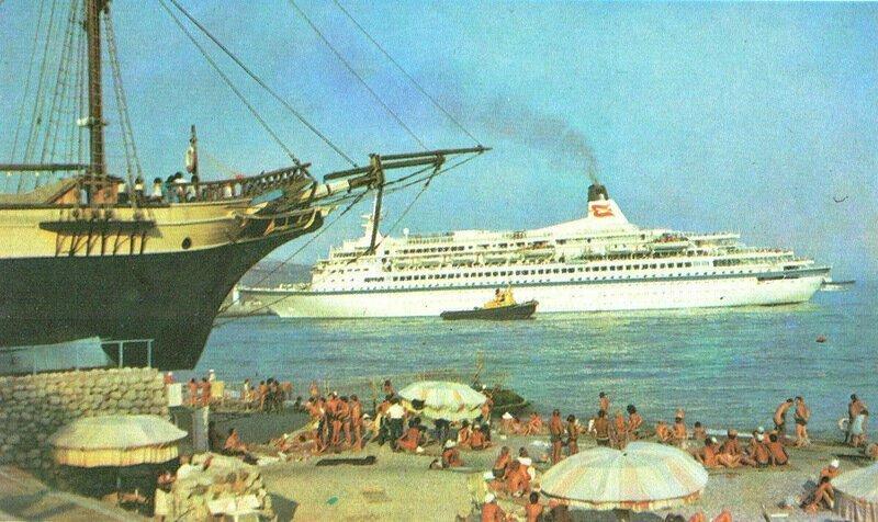 Отдых в СССР: Крым в 1980-е годы