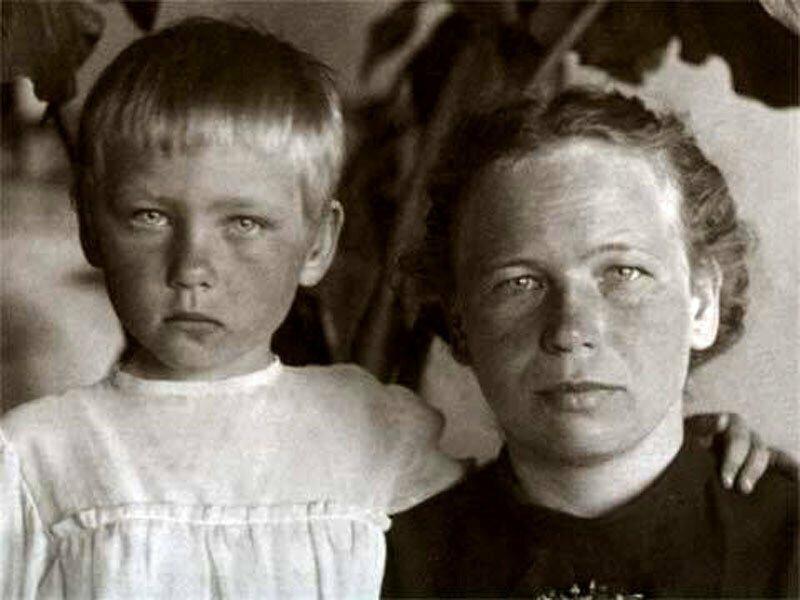 Неизвестные фото известных людей