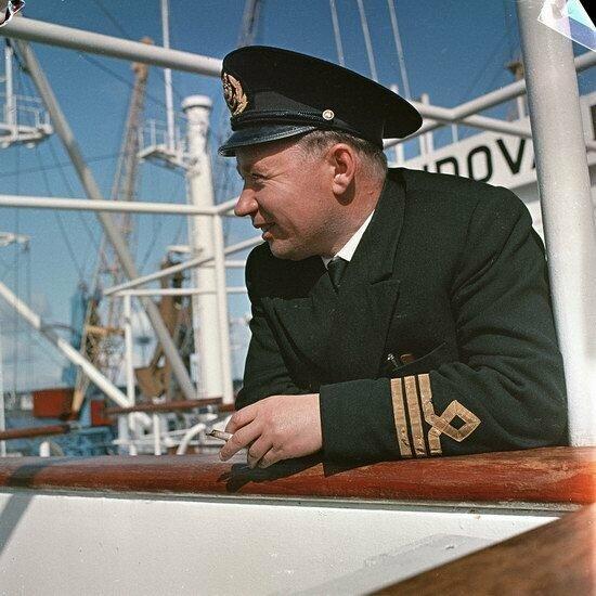 Моряк на Балтийском море