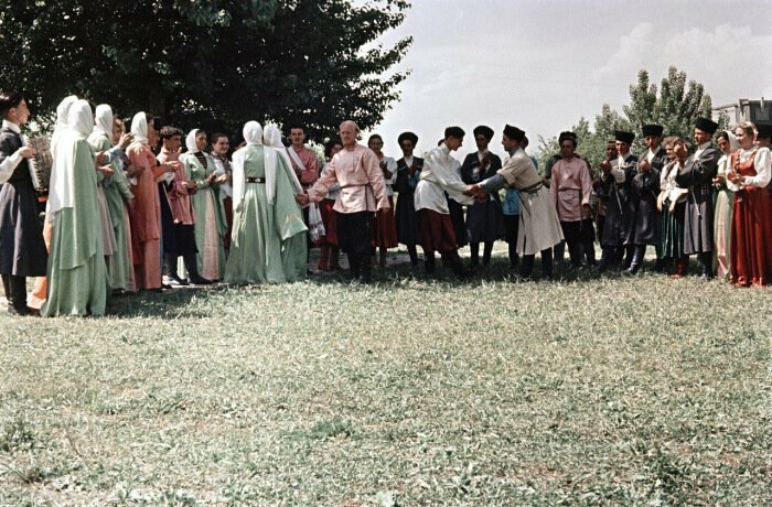 Традиционные танцы в Кабардино-Балкарии