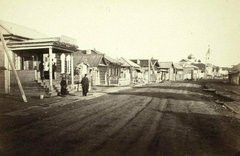 Улица Большая в селе Кутулик