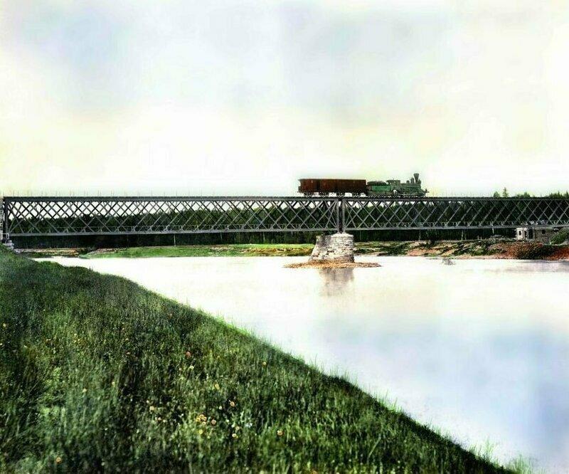 Мост через реку Яйва