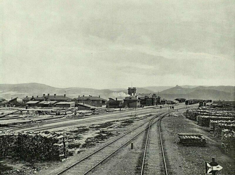 Вид на станцию