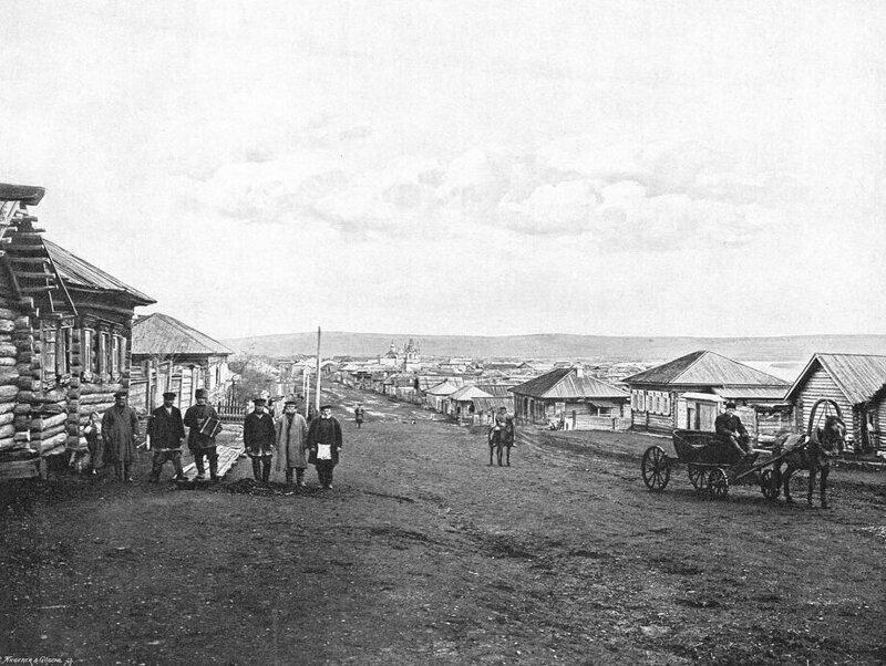 Общий вид села Боготол
