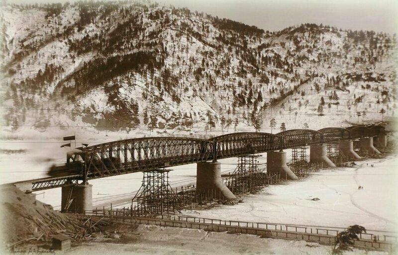 Мост через реку Селенга