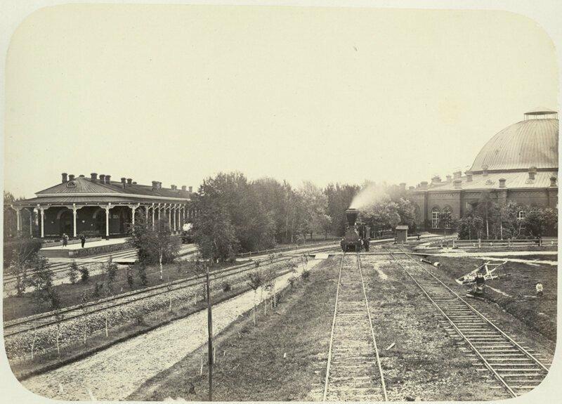 Железнодорожное депо в Твери